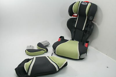 Graco 1893811 High Back Turbobooster Car Safety Seat w Cupholders Go Green