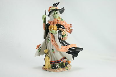 Fitz and Floyd Halloween Collection Harvest Witch Figurine PLEASE READ NOTES