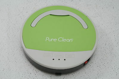 Pure Clean Smart Robotic Vacuum  Automatic Floor Cleaner Pyle PUCRC15 3 Modes