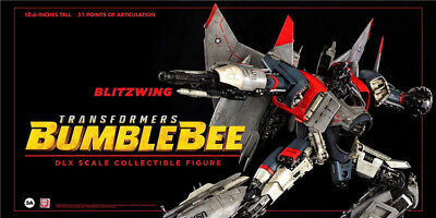 HASBRO Transformers Bumblebee Blitzwomg DLX Scale Collectible Figure