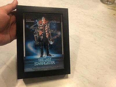 The Last Starfighter 3D Art Horror Decor Movie Poster vhs