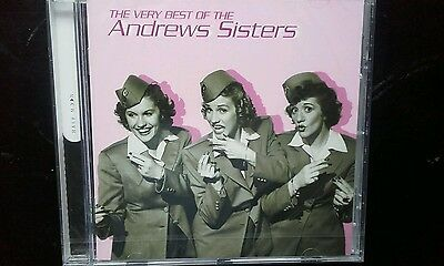 """THE VERY BEST OF """"THE ANDREWS SISTERS"""" 24 Greatest Hits CD.  NEW SEALED"""