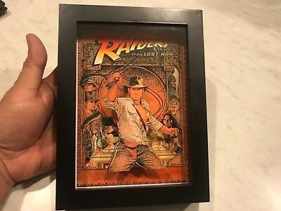 Raiders of the lost Ark 3d Art Horror Decor Movie Poster vhs Spielberg