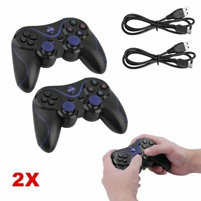 2X Wireless Gamepad dual Vibration Bluetooth Controller für Android phones SALE