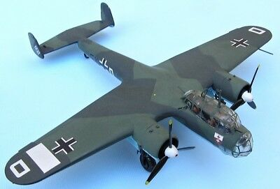 DORNIER Do-17Z-2, Luftwaffe, 1940 Battle of B,scale 1/72,Hand-made plastic model