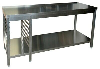 Work Table 1200x600x850mm, with Base Bottom and Kitchen Working Table Worktop
