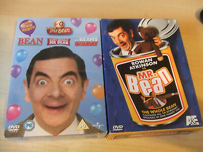 Mr Bean - The Whole Bean (Used) & 20 Years Of Mr Bean (NEW) DVD Box Sets