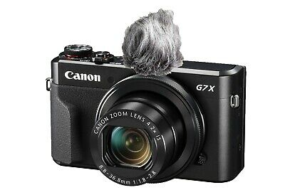 Camera microphone muff (self build kit for canon g7x mark ii and other cameras)