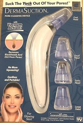 Derma Suction DermaSuction Blackhead Remover Genuine BulbHead Product