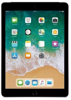 Apple iPad 6 2018 WiFi+Cellular 9.7 Zoll Tablet PC ohne Simlock Spacegrau 32GB