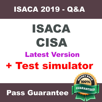 ISACA CISA Certified Information Systems Auditor Dump Exam Q&A PDF + VCE SIM