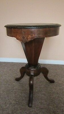 Victorian 3 leg sewing table