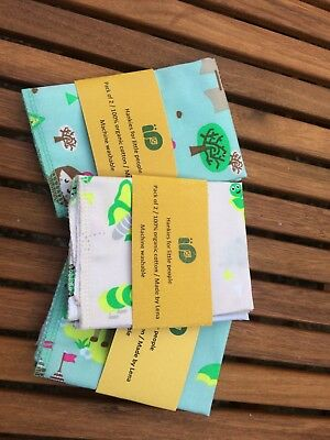 Childrens HANDKERCHIEF hankies hanky Kids zero waste