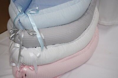 Reborn Double sided Baby Cocoon Sleep Nest Cushion Breathable Snuggle Pod Pink