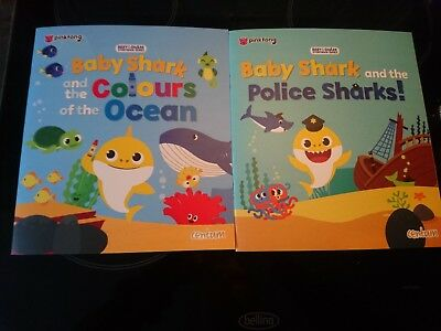 baby shark brand new learning book