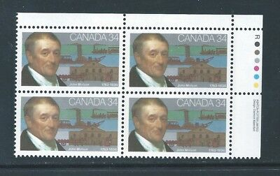 Canada #1117i UR PL BL Low Fluorescent Paper Variety MNH **Free Shipping**