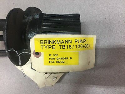 New No Box Brinkmann 240/480Vac 3P.35/0.2Amps Pump Tb16/120+001