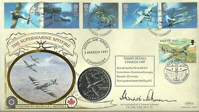 1997 Supermarine Spitfire PNC, signed by the late JE 'Johnnie' Johnson