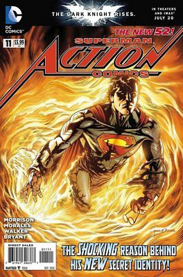 Action Comics (Vol 2) #  11 Near Mint (NM) DC Comics MODERN AGE