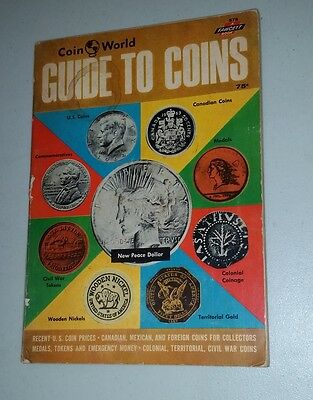 1964 Coin World Guide to Coins a Fawcett paperback Book  112 pages