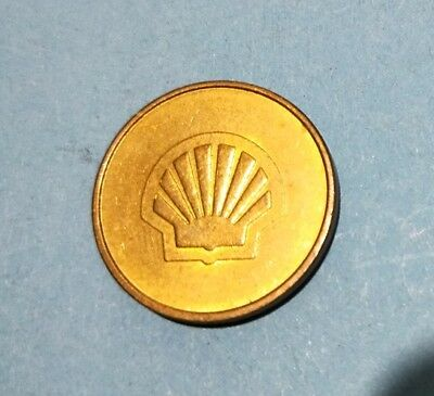 Thick shell token 23 mm