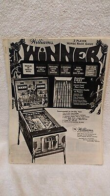 Vintage Catalog of Pinball,Novelty,Video, Shuffle Bowling,Games 1940's to 1060's