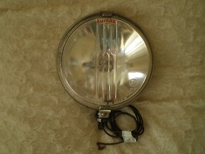 """Fine 6 Inch Fog Or Driving Light By """"lumax"""" In Good Working Order British  Made"""