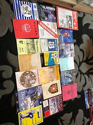 20 X Mix Of Scottish League Football Programmes 1968-14