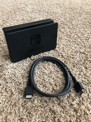 Official Genuine Nintendo Switch Console Screen TV Dock Station + OEM HDMI Cable