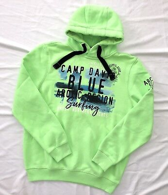 CAMP DAVID HOODIEKAPUZENPULLOVER XXL *Artic Surf I