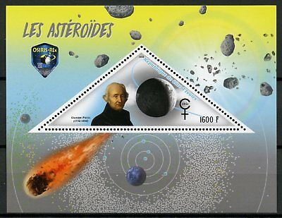 Ivory Coast 2018 MNH Asteroids Guiseppe Piazzi Ceres 1v S/S Space Stamps