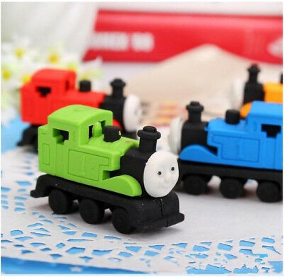 1PCS  Rubber Pencil Eraser Stationery Kid Children Novelty TRAIN Cute Gift Toy