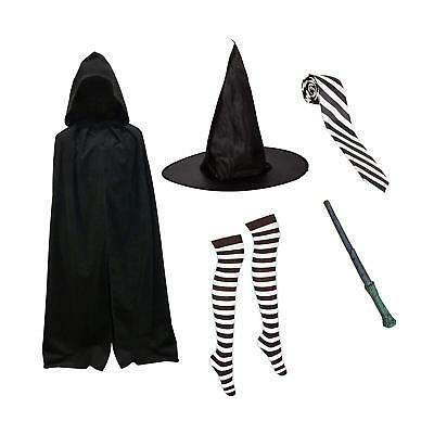 Kids Mildred Hubble Witch Wizard Fancy Dress World Book Day Costume Accessories