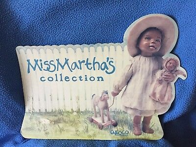 ALL GODS CHILDREN Cardboard SIGN 1991 MISS MARTHA'S ORIGINALS