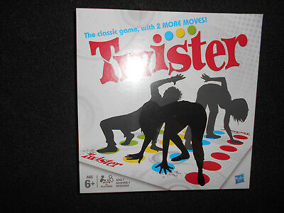 Funny Twister The Classic Game With 2 More Moves Family Party Games UK