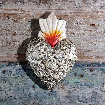 Mexican Milagro Heart Decoration Small D