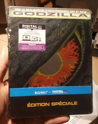 Godzilla (1998) - Limited Edition Steelbook (Blu-ray) BRAND NEW!!