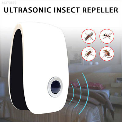 6C24 New Non-toxic Electronic Ultrasonic Control Pest Rat Mouse Rodent Repeller