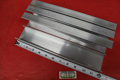 """4 Pieces 3"""" x 1-1/2"""" x 3/16"""" Wall 6061 T6 ALUMINUM CHANNEL 12"""" long Mill Stock"""