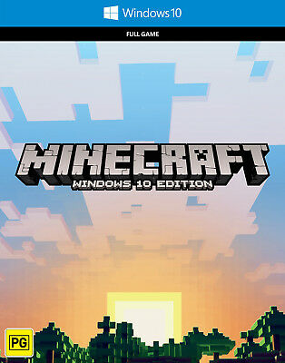 Minecraft Windows 10 EDITION PC KEY NO CD
