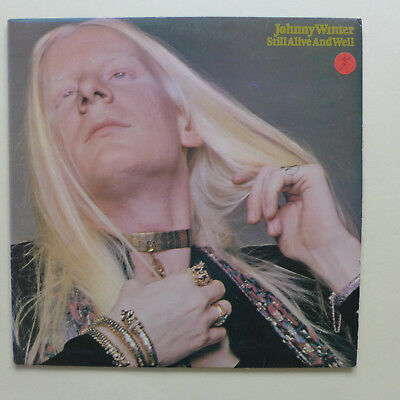 Johnny Winter - Still Alive And Well - Vinyl LP 1973 CBS MADE IN ENGLAND