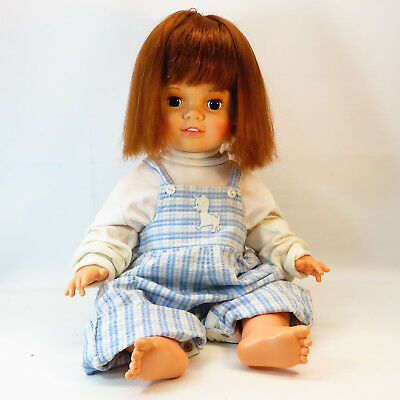 Vintage Beautiful Baby Crissy Doll Chrissy 1972 Hair Grows Works