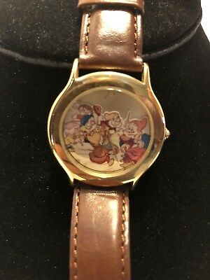 Disney Snow White Seven Dwarf Everlasting Time Watch Limited Edition