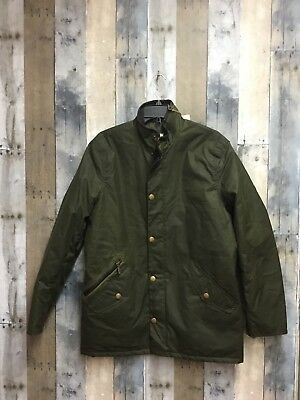 Barbour Mens Prestbury Waxed Jacket: Size M: Archive Olive (13)