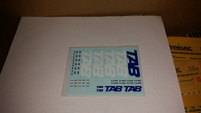 """Decals   """" TAB """"  Spedition  1:87"""