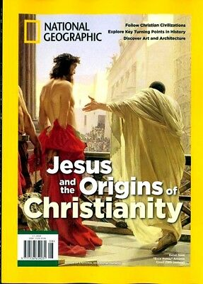 National Geographic Special Magazine 2019 ~ Jesus & The Origins Of Christianity