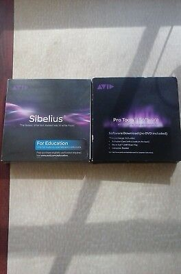 Avid Pro Tools 12 Software with Upgrade Plan and Sibelius bundle