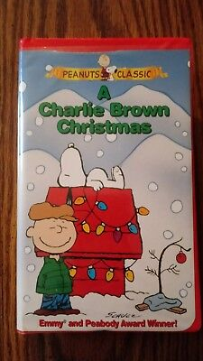 A Charlie Brown Christmas Vhs.A Charlie Brown Christmas Vhs 1965 Peanuts Clamshell