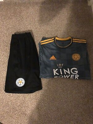 Leicester City Away Shirt 2018/19 And Leicester City Training Shorts