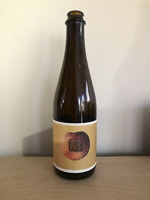 Bond Brothers Peach Reserve Sour Beer Bottle North Carolina Neuse River Brewing